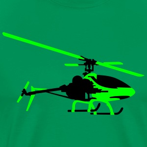 helicopter model T-shirts - Mannen Premium T-shirt