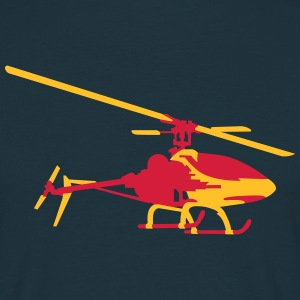helicopter model T-shirts - Mannen T-shirt