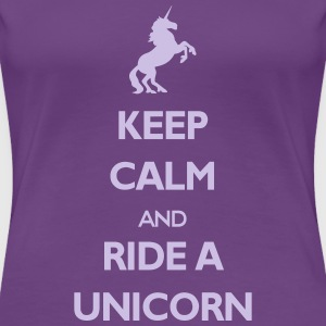 Ride a Unicorn T-Shirts - Frauen Premium T-Shirt
