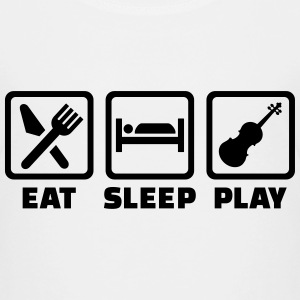 Eat sleep Geige T-Shirts - Kinder Premium T-Shirt