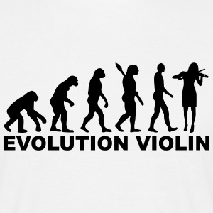 Evolution Violin T-Shirts - Männer T-Shirt