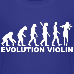 Evolution Violin T-Shirts - Kinder Premium T-Shirt
