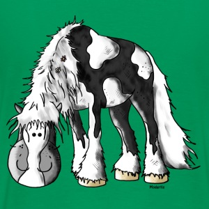 Dreamy Irish Tinker - Gypsy Cob T-Shirts - Men's Premium T-Shirt