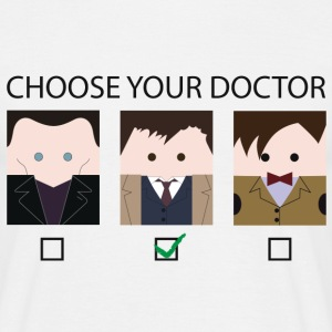 Choose your doctor - Maglietta da uomo