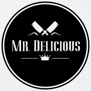 Mr Delicious - Männer T-Shirt