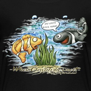 when clownfishes meet T-shirts - Premium-T-shirt barn