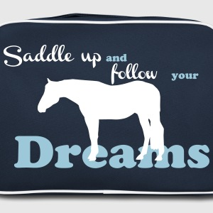 Saddle up - follow your dreams Bags & Backpacks - Retro Bag