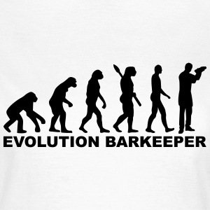 Evolution Barkeeper T-Shirts - Frauen T-Shirt