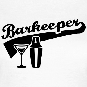 Barkeeper T-Shirts - Frauen T-Shirt