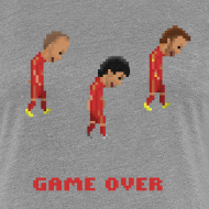 Design ~ Women T-Shirt - Game over