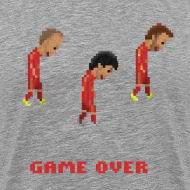 Design ~ Men T-Shirt - Game over