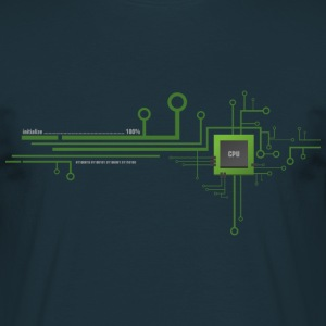 Prozessor Shirt - works with CPU - Männer T-Shirt