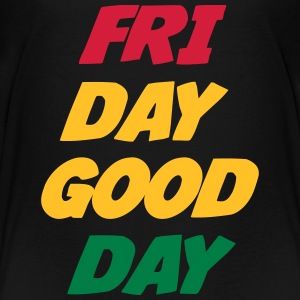 Friday Good Day T-shirts - Premium-T-shirt tonåring