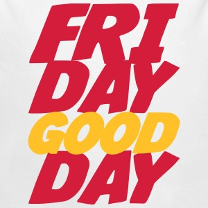 Friday Good Day Felpe - Body ecologico per neonato a manica lunga