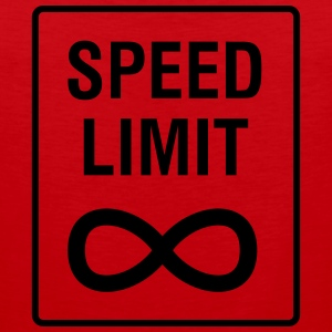 Speed Limit - Unendlich / Funny / Car Tuning Singlets - Premium singlet for menn