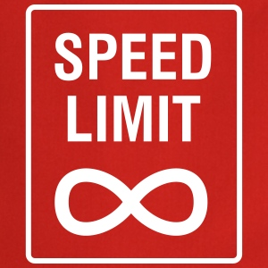 Speed Limit - Unendlich / Funny / Car Tuning Kookschorten - Keukenschort