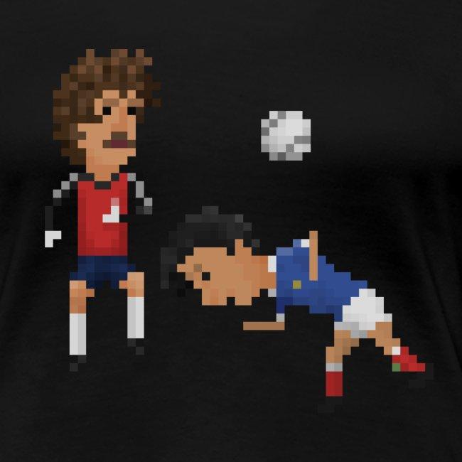 Women T-Shirt - France Germany 82