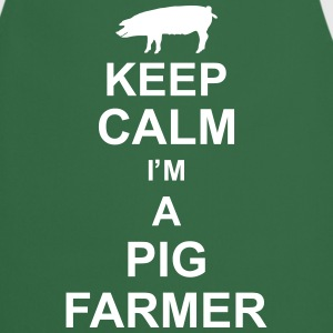 keep_calm_im_a_pig_farmer_g1 Kookschorten - Keukenschort