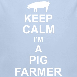 keep_calm_im_a_pig_farmer_g1 Hoodies - Longlseeve Baby Bodysuit