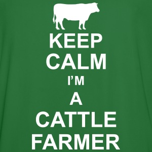 keep_calm_im_a_cattle_farmer_g1 T-shirts - Mannen voetbal shirt