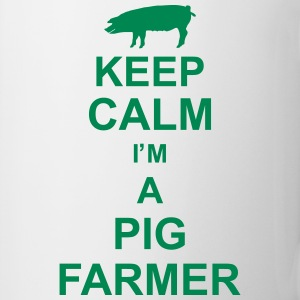 keep_calm_im_a_pig_farmer_g1 Flessen & bekers - Mok
