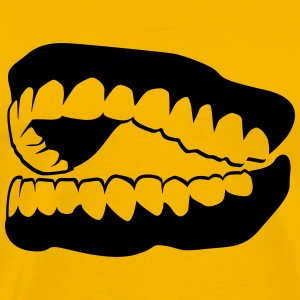 laughing teeth T-Shirts - Men's Premium T-Shirt