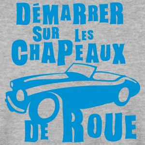 demarrer chapeaux de roue expression Sweat-shirts - Sweat-shirt Homme