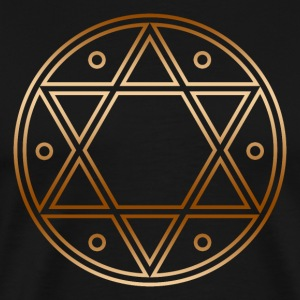Seal of Solomon, Magic Sigil, hexagram, symbol T-Shirts - Men's Premium T-Shirt