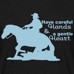 Western riding T-Shirts - Men's T-Shirt