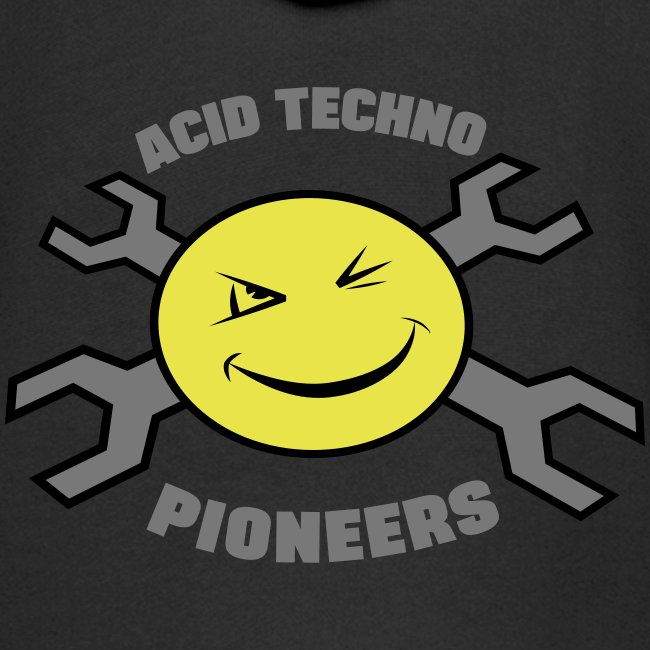 Acid Techno Pioneers Collection Kids' Zip Hoodie