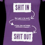 Motif ~ Shit in, Shit out (Woman)