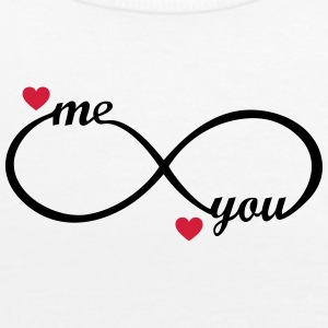 I love you My Boyfriend Girlfriend Me You forever  Tops - Women's Tank Top by Bella