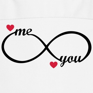 I love you My Boyfriend Girlfriend Me You forever   Aprons - Cooking Apron