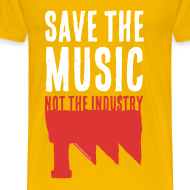 Motif ~ Save the Music, not the Industry White (Man)