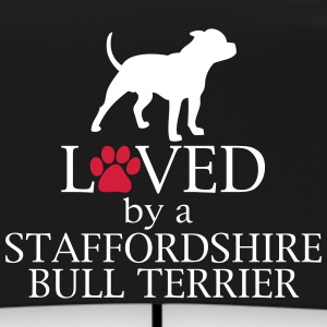 Loved Staffordshire Bull Terrier Ombrelli - Ombrello tascabile