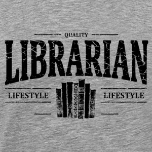 Librarian T-Shirts - Men's Premium T-Shirt
