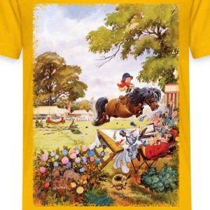 PonyTournament Thelwell Cartoon Shirts - Kids' Premium T-Shirt