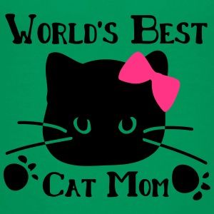 World's best cat mom Teenage Premium T-Shirt - Teenage Premium T-Shirt