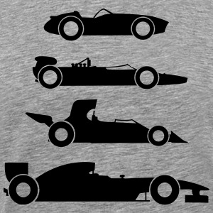 Formel 1 Evolution T-shirts - Herre premium T-shirt