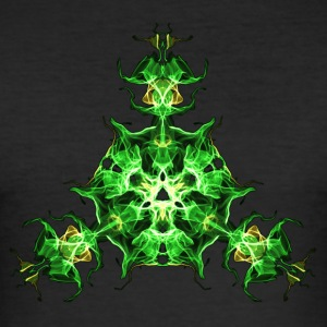 Force Shield, Power, Superhero, Fractal, Energy Tee shirts - Tee shirt près du corps Homme