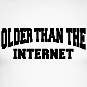 Older than the internet Manches longues - T-shirt baseball manches longues Homme