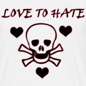 Love to Hate T-shirts - T-shirt herr