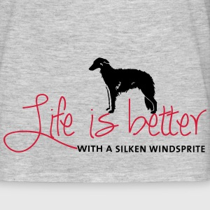 Life is better with a Silken T-Shirts - Männer T-Shirt