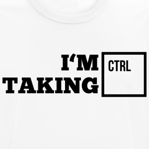 i_am_taking_control1_1f T-shirts - Andningsaktiv T-shirt herr