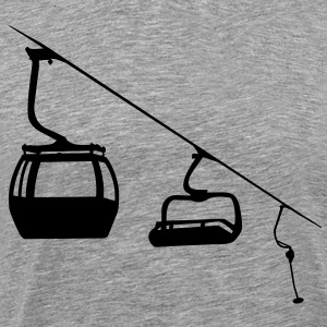 Evolution ski lift T-Shirts - Men's Premium T-Shirt