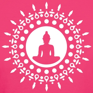 Buddha meditation, yoga, Buddhism, enlightenment T-Shirts - Women's Organic T-shirt