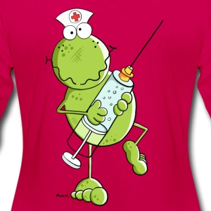 Nurse Frog  Long Sleeve Shirts - Women's Premium Longsleeve Shirt