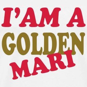 I'am a golden mari 111 T-skjorter - Premium T-skjorte for menn