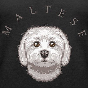 Maltese Tops - Women's Premium Tank Top