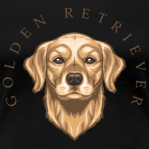 Golden Retriever T-Shirts - Women's Premium T-Shirt